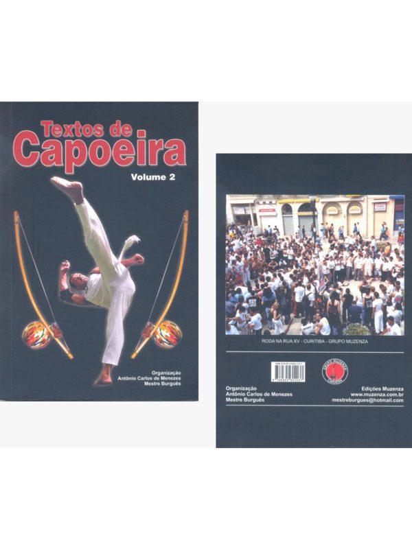 Livro TEXTO DE CAPOEIRA Volume 2