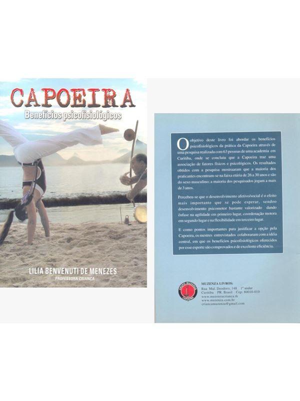 """Livro """"CAPOEIRA BENEFÍCIOS PSICOFISIOLÓGICO"""""""