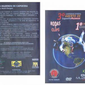 DVD 3º Campeonato Mundial de Capoeira