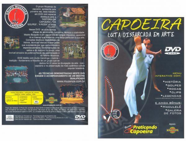 DVD Capoeira Luta Disfarçada em Arte
