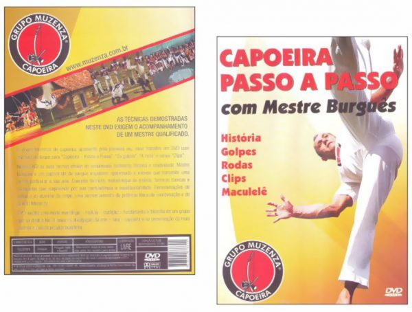 DVD Capoeira Passo a Passo com Mestre Burguês