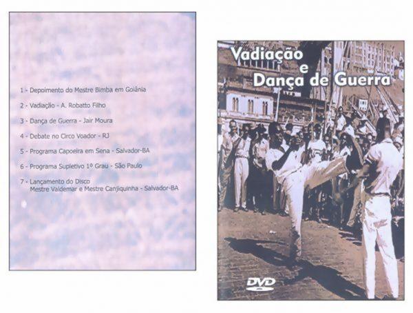 DVD DOCUMENTÁRIO VADIAÇÃO E DANÇA DE GUERRA