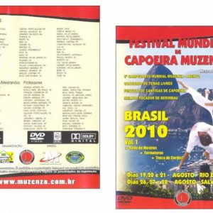 DVD - FESTIVAL MUNDIAL DE CAPOEIRA MUZENZA
