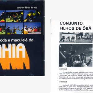 Sambas de Roda e Maculelê da Bahia CD Muzenza