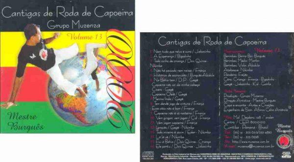 CD Cantigas de Roda de Capoeira Grupo Muzenza Vol. 13