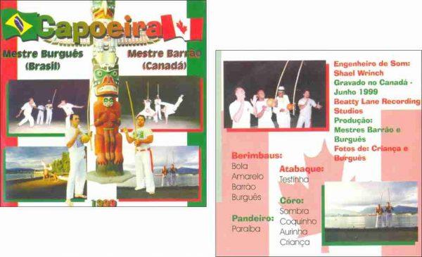 CD Capoeira Brasil Canadá