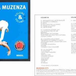 CD Capoeira Muzenza Vol.03 e 04