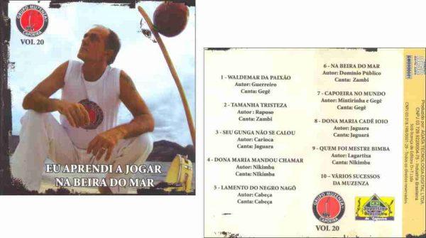 CD Eu Aprendi a Jogar na Beira do Mar Vol. 20